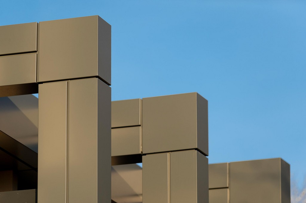 Architectural details of the redeveloped Pera Conference Centre Melton Mowbray