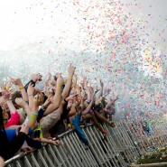 Confetti Explosion at Creamfields 2011