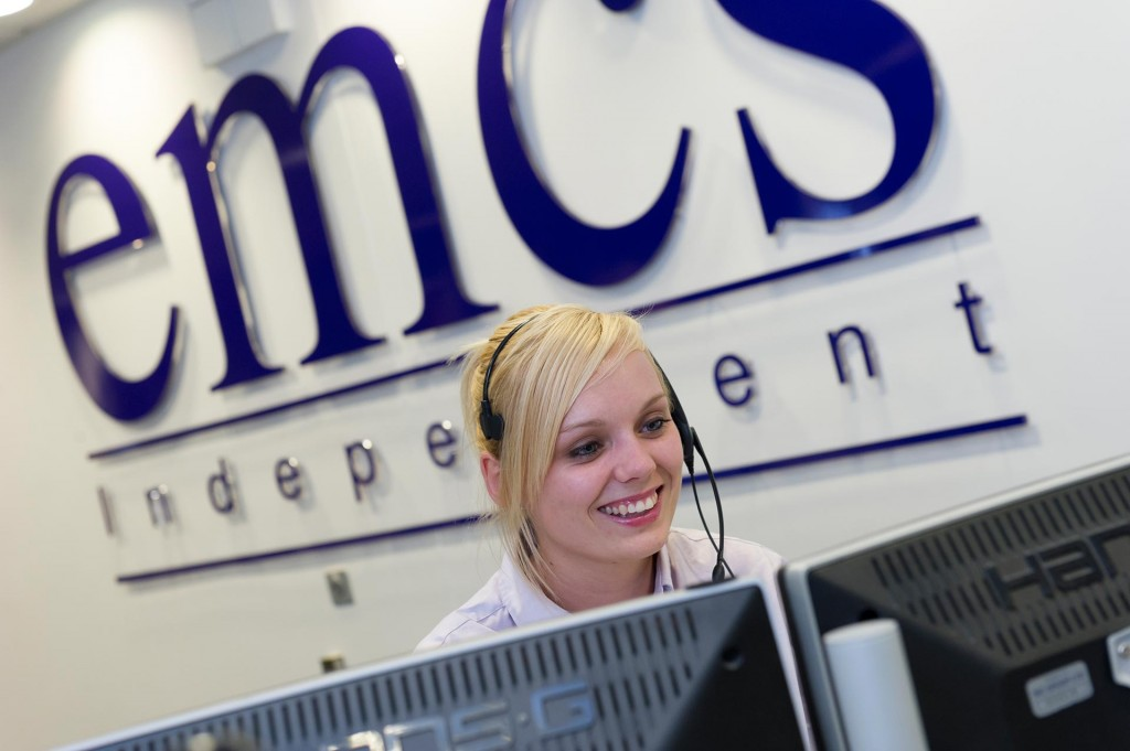 Call centre operator at East Midlands Central Station
