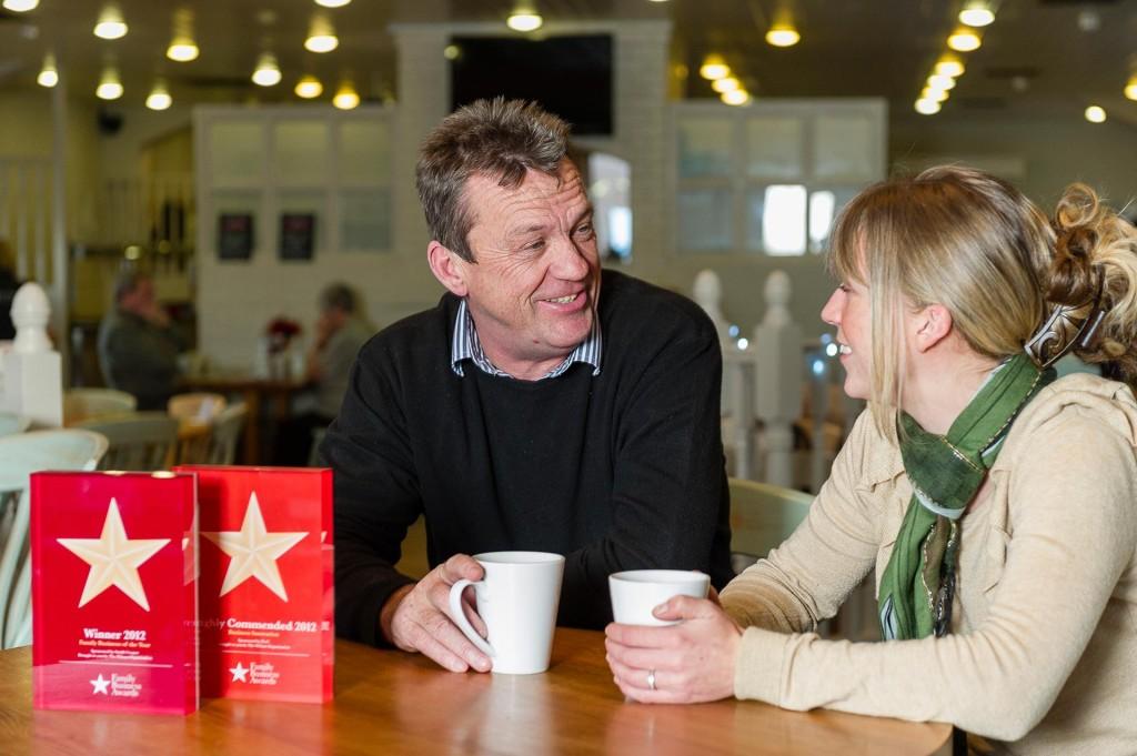 Midlands Family Business Award winners Beckett's Farm shot for Illuminate magazine.