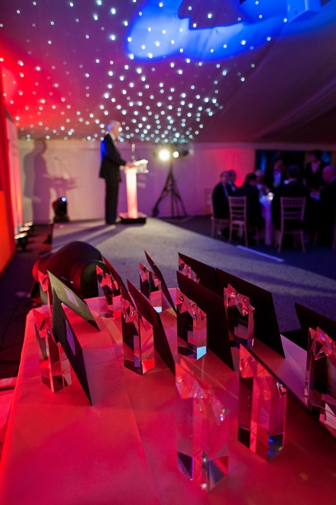 Awards night at the Midlands Family Business Awards 2011