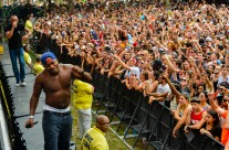 Rudimental on stage