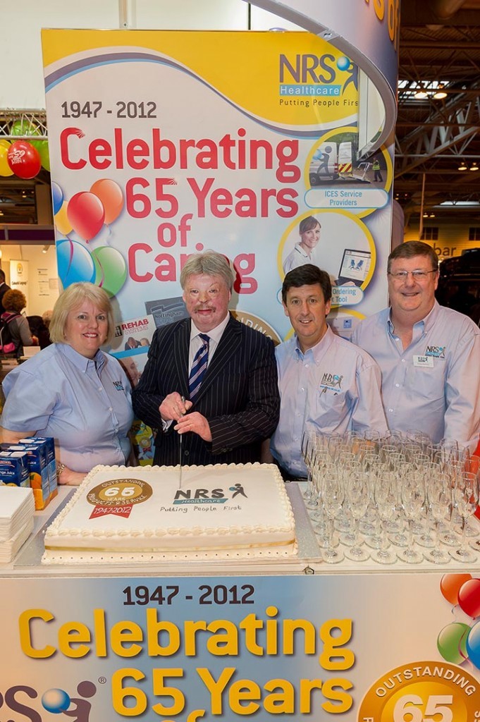 Argentina War veteran Simon Weston guest appearance at the NRS exhibition stand at Naidex 2012