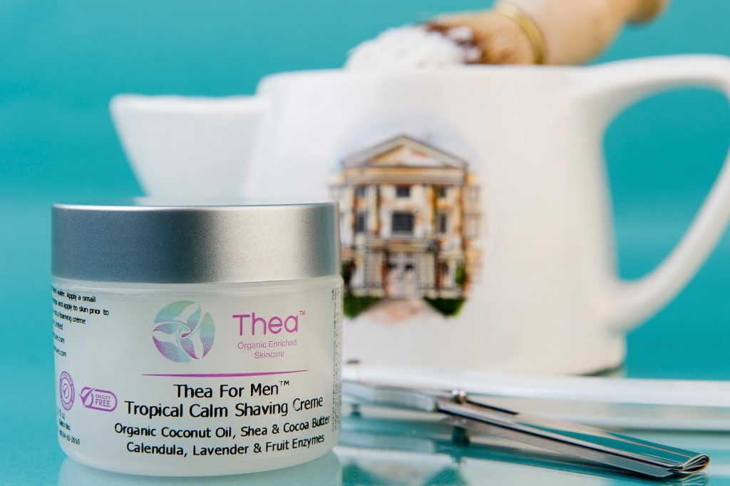 Thea Skincare product shot for sales brochure