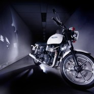 Triumph Motorbike