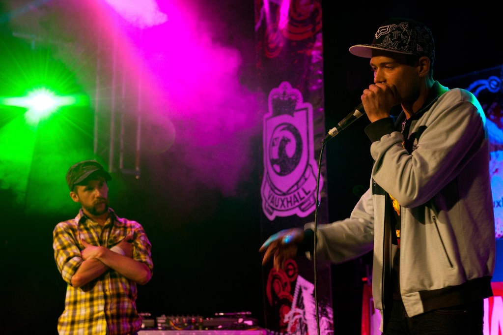 Yasson and beatbox battle it out at the 2010 UK Beatbox Championships at the 02 Academy, London.