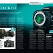 Samsung NX10 in Digital Photo Magazine