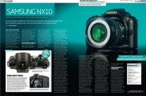 Samsung NX10 in Digital Photo Magazine