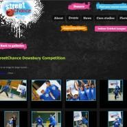 Screenshot from the StreetChance website