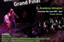 UK Beatbox Championships poster
