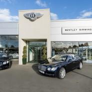 Bentley Birmingham Advertising Shoot