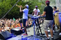 Rudimental at Budweiser Made in America Festival
