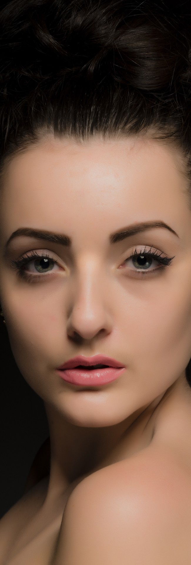 Beauty Studio Shot