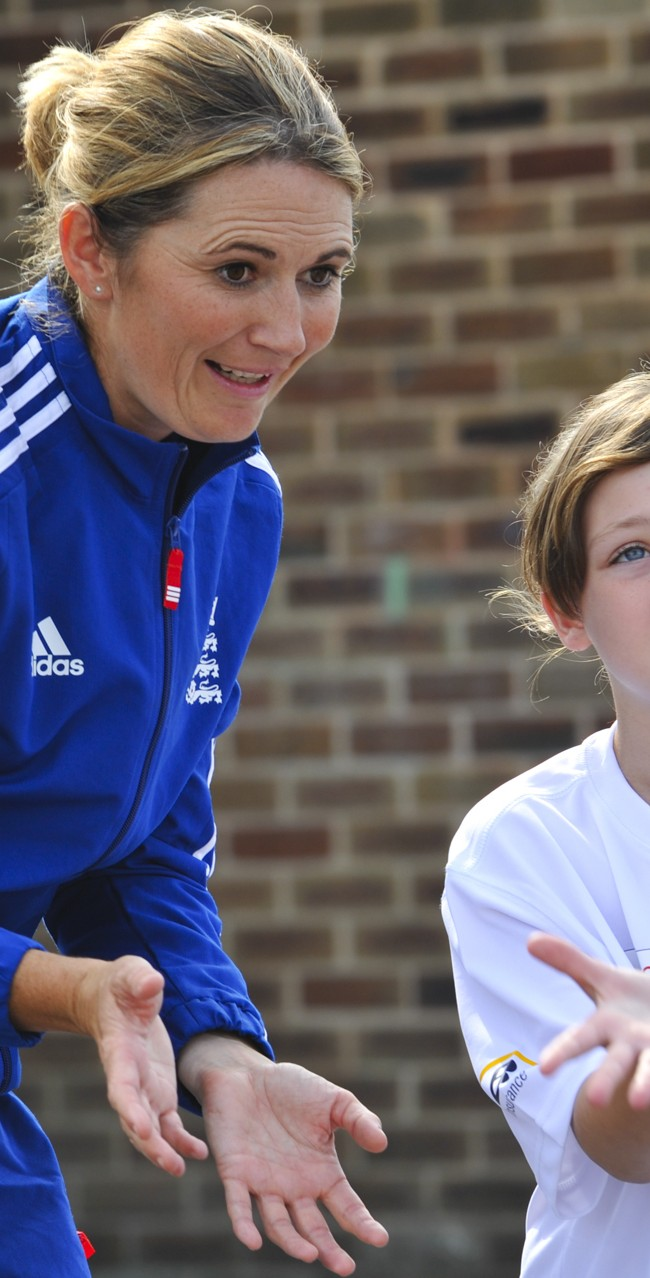 Charlotte Edwards – Chance to Shine ambassador