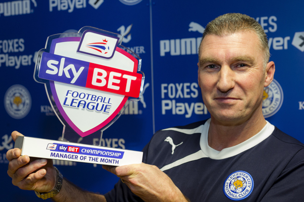 Nigel Pearson Nigel Pearson of Leicester CIty FC wins the SkyBet Manager of the Month award for January 2014.