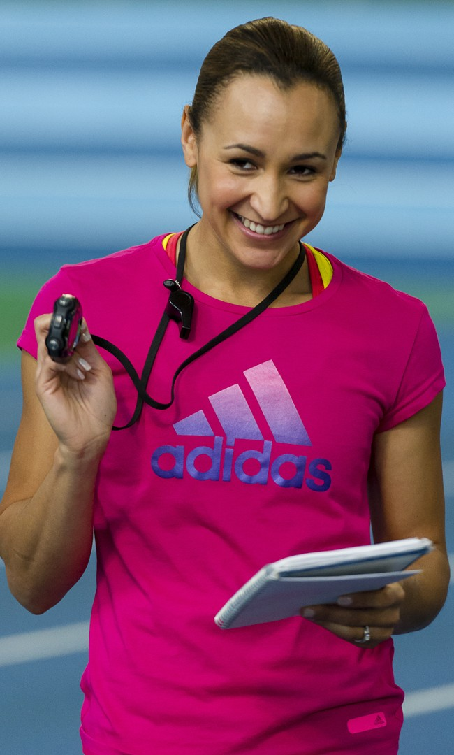 Jess Ennis-Hill Powerade Training Day
