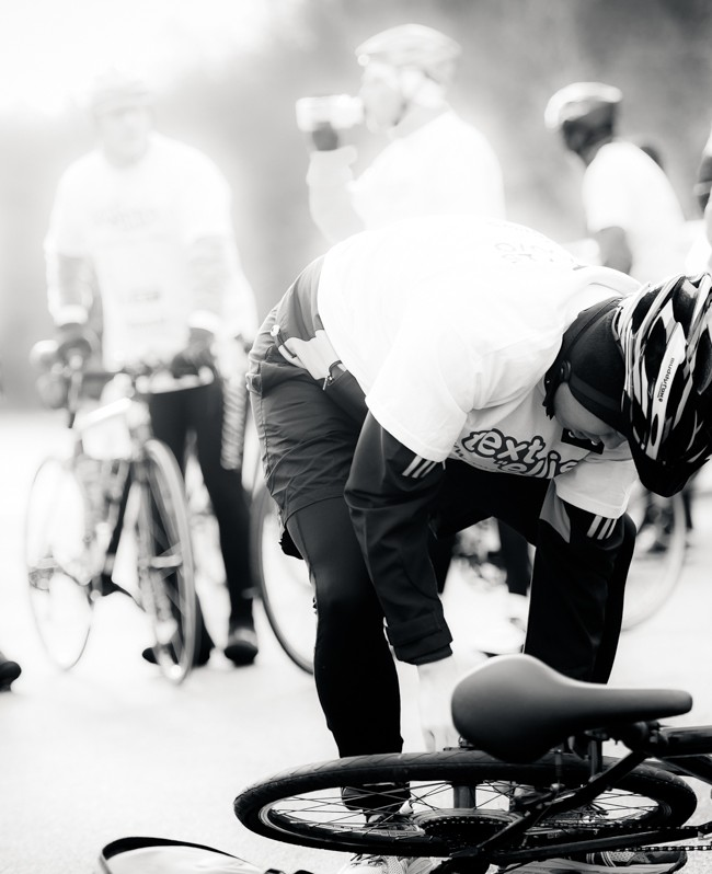 "Text ""Ellis"" Charity Bike Ride #6"