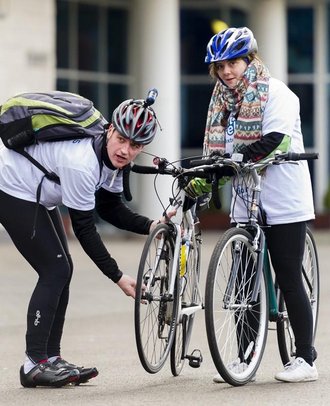 "Text ""Ellis"" Charity Bike Ride #8"