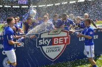 Leicester City FC Championship '14 Trophy Presentation
