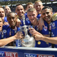 Leicester City FC Championship Trophy Presentation