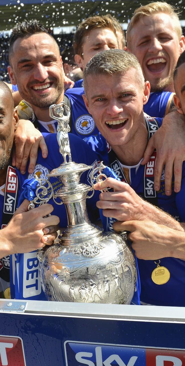 Leicester City FC Championship '14 Trophy Presentation
